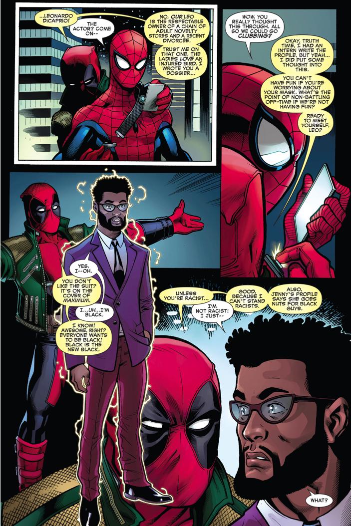 Deadpool Sets Up Spider-Man On A Blind Date