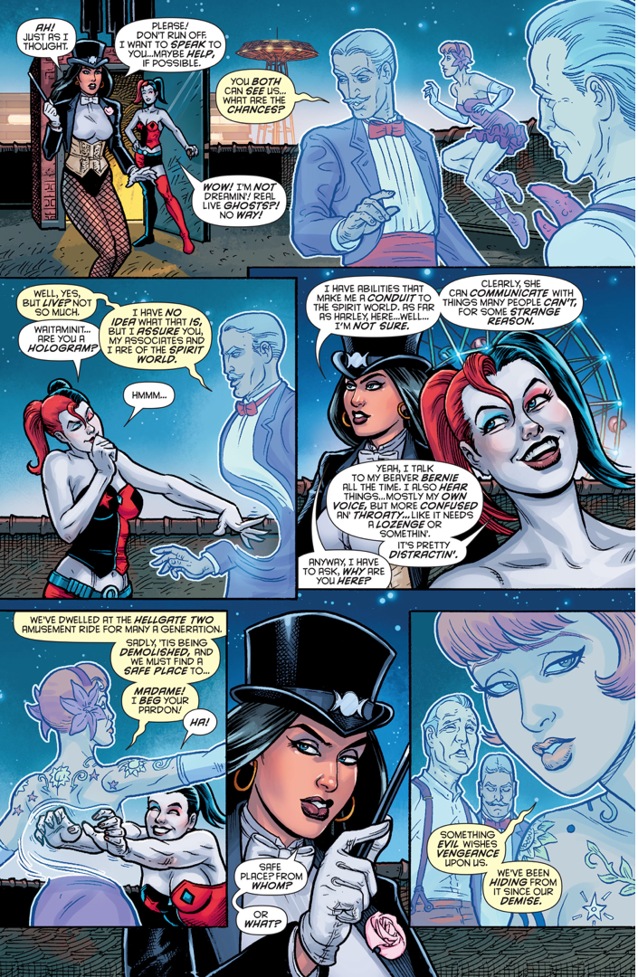 Harley Quinn Can See Ghosts