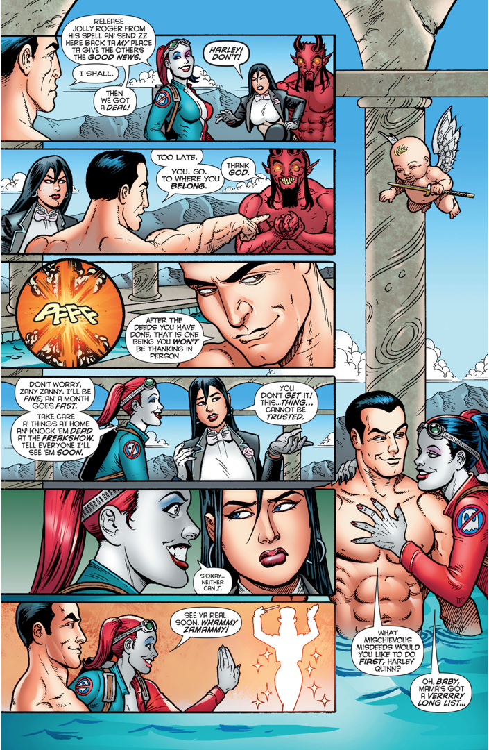 Harley Quinn Makes A Deal With Demon Nad Oidid