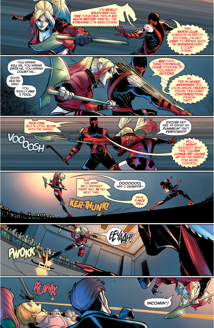Harley Quinn Meets Red Tool