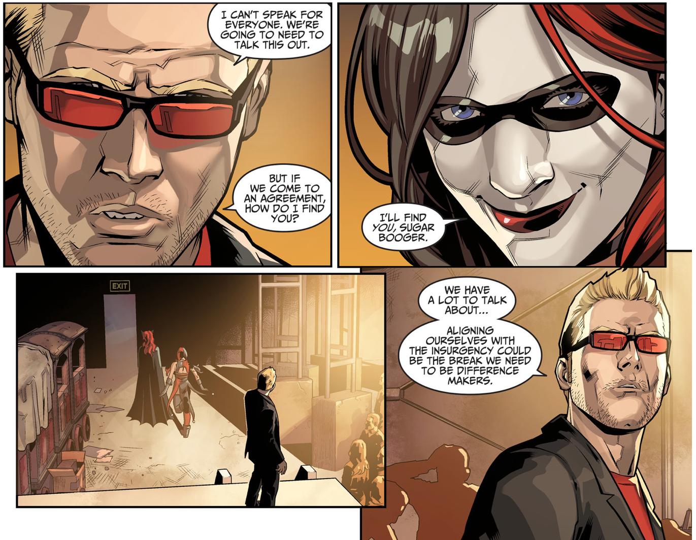 Harley Quinn Recruits The Joker Underground