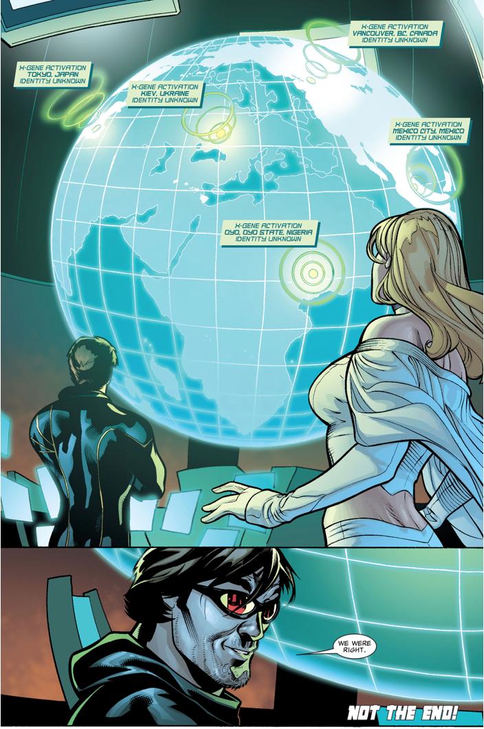 Hope Summers Reactivates The Mutant Gene