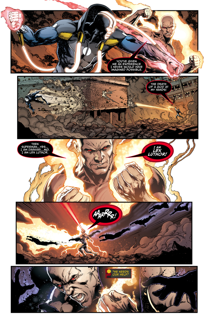 Lex Luthor VS Mobius