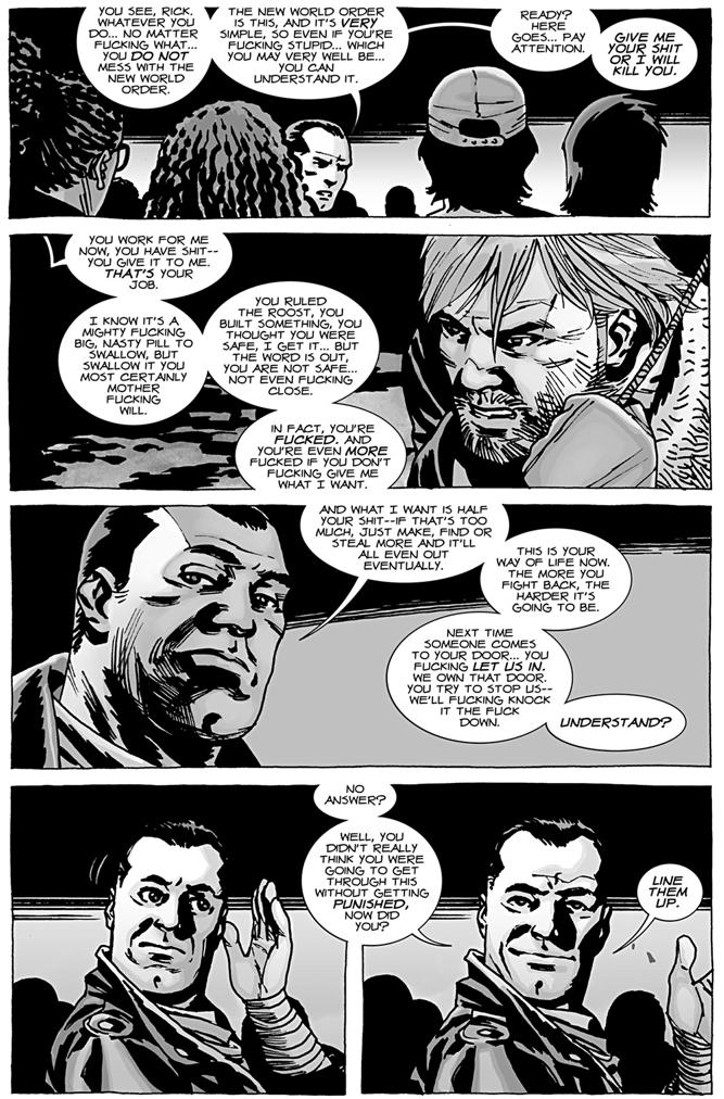 Rick Grimes Meets Negan
