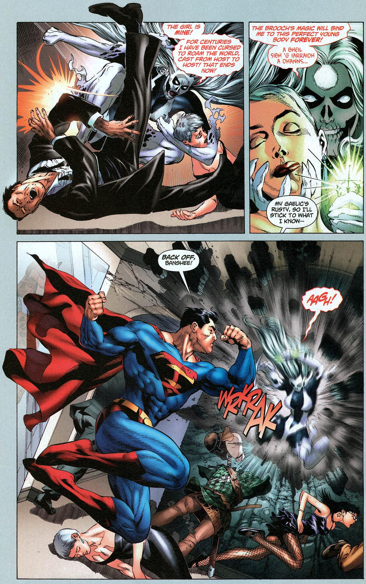 superman and batman vs silver banshee