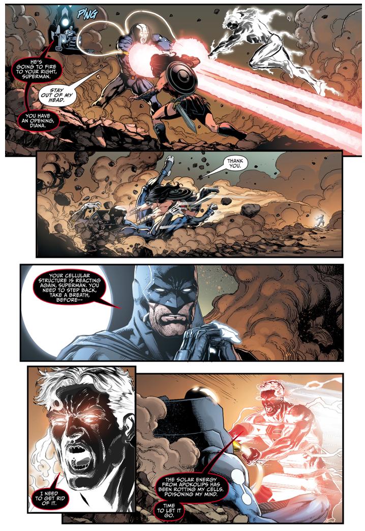 Superman, Batman And Wonder Woman VS Mobius