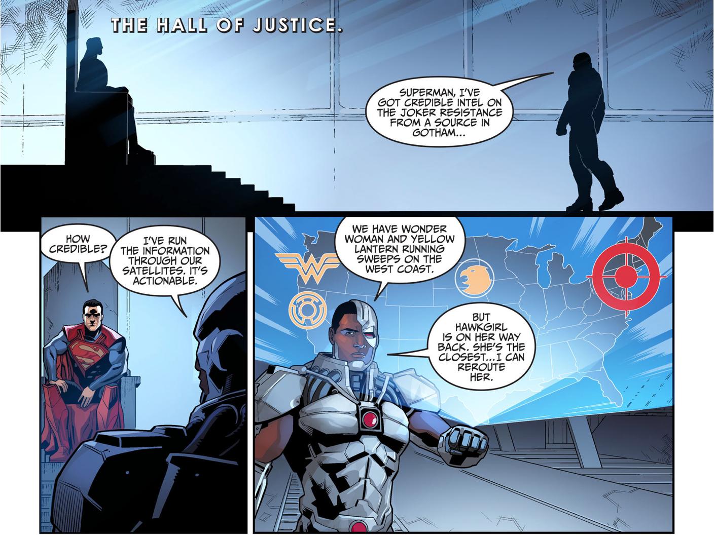 Superman Kills The Joker Underground Group