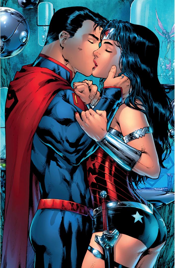 Superman Tells Wonder Woman He's Dying