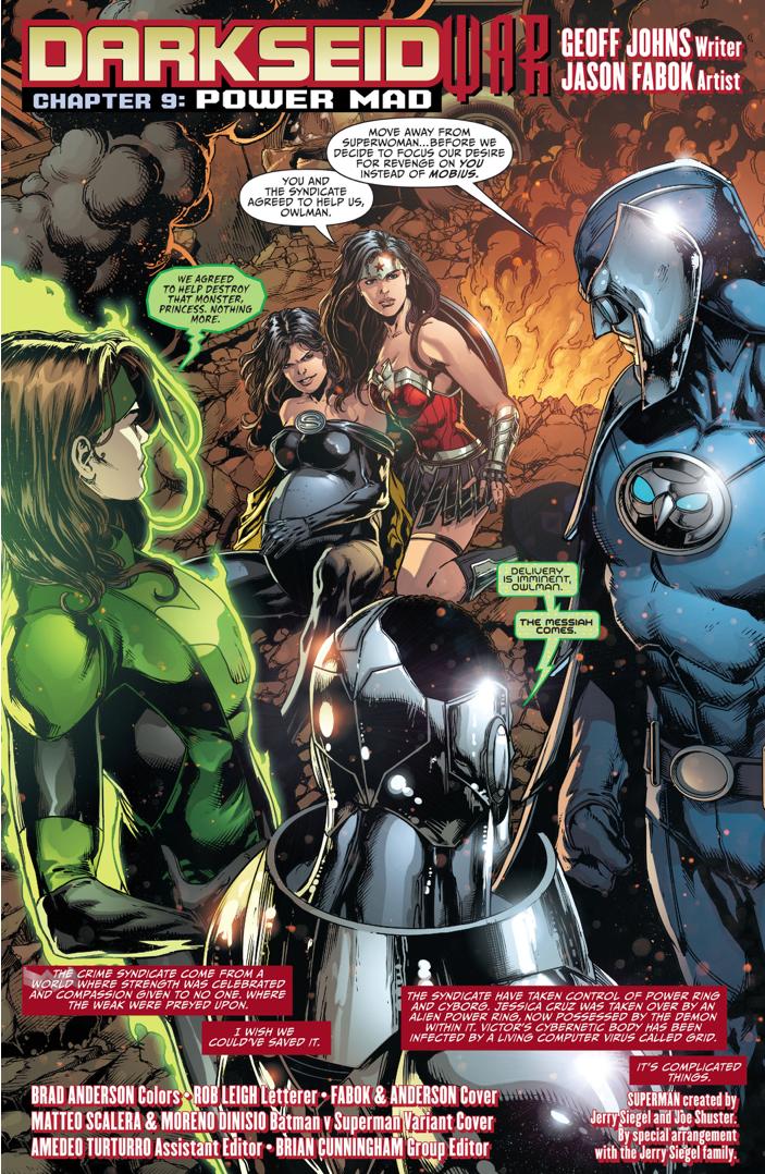 Superwoman Gives Birth