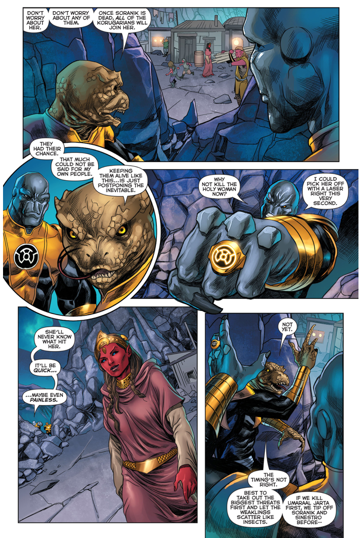 The Black Circle Of The Sinestro Corps