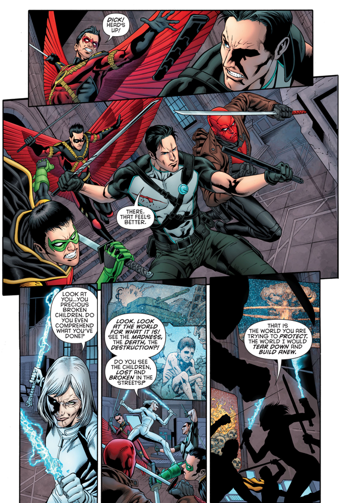 The Four Robins VS Mother