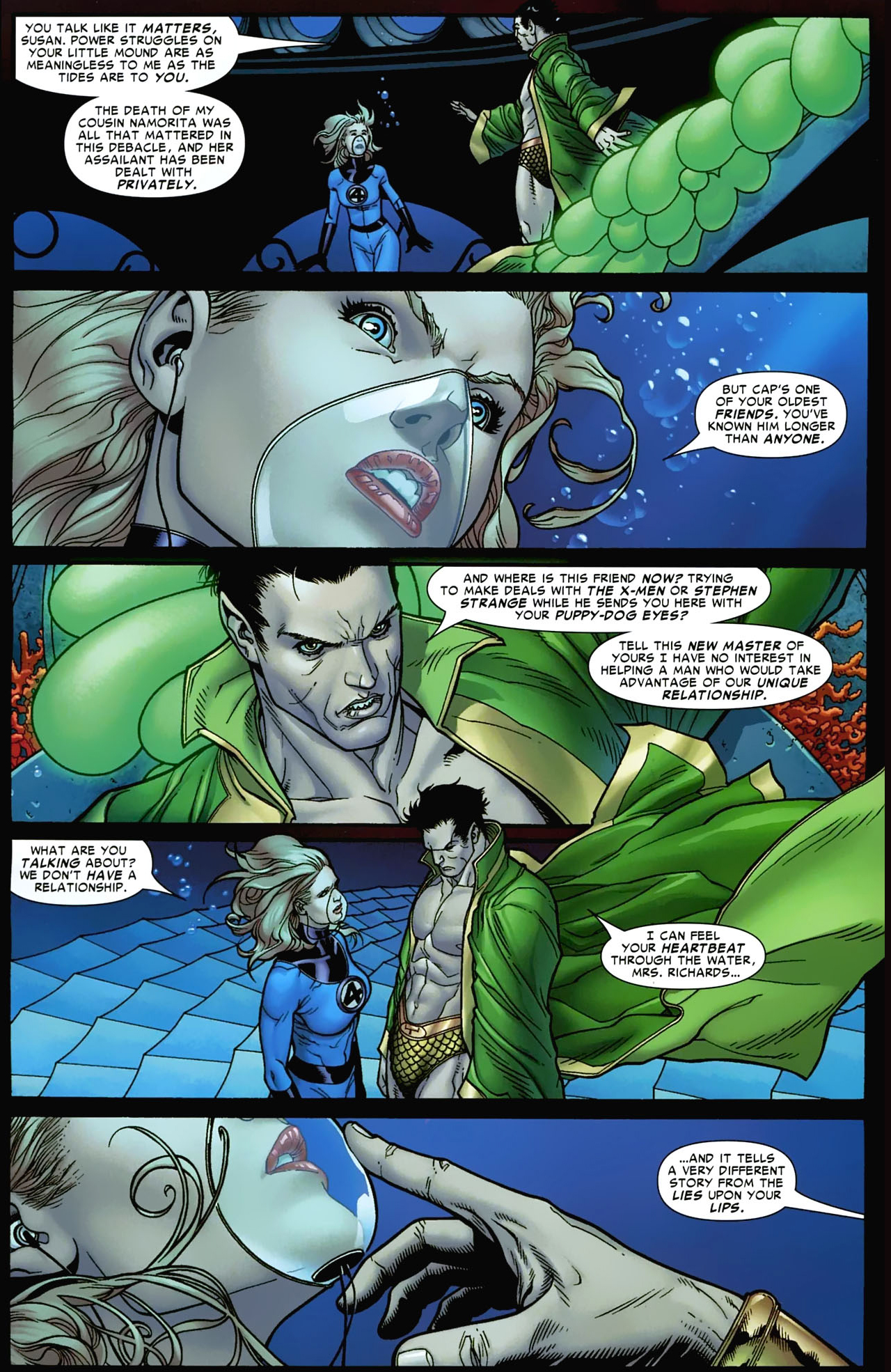 the invisible woman tries to recruit namor (civil war)