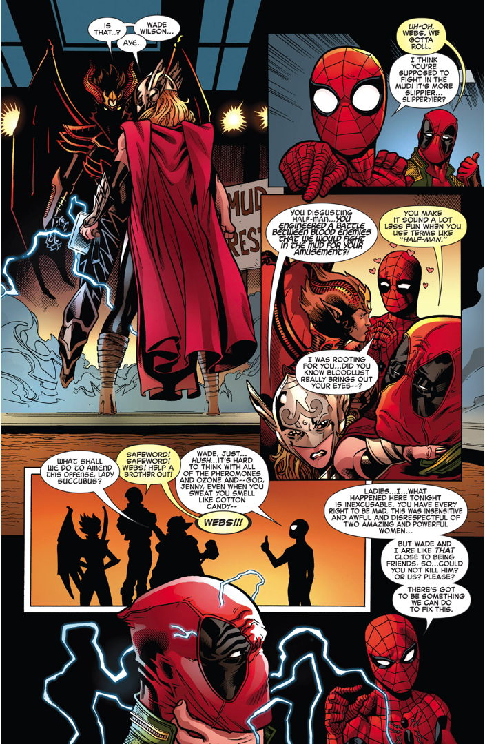 Thor (Jane Foster) VS A Succubus