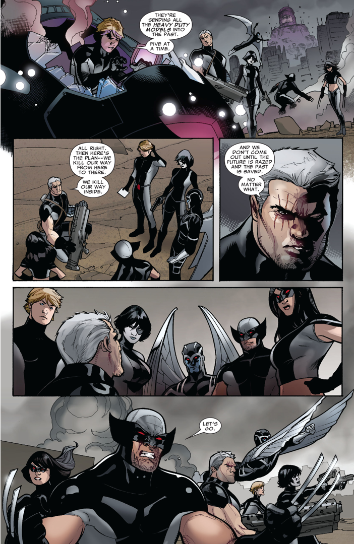 X-Force Travels Into The Future (Second Coming)