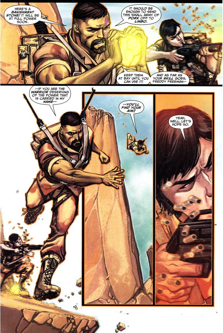 Achilles VS Empath Demon (Trials Of Shazam)