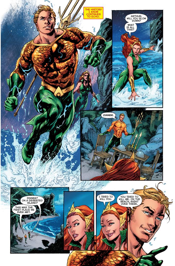 Aquaman Proposes To Mera (Rebirth)