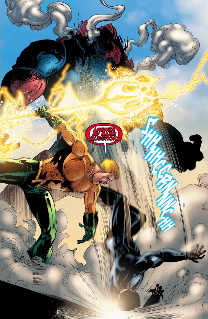 Aquaman VS The Scavenger
