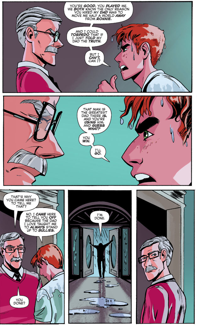Archie Andrews Stands Up To Mr. Lodge