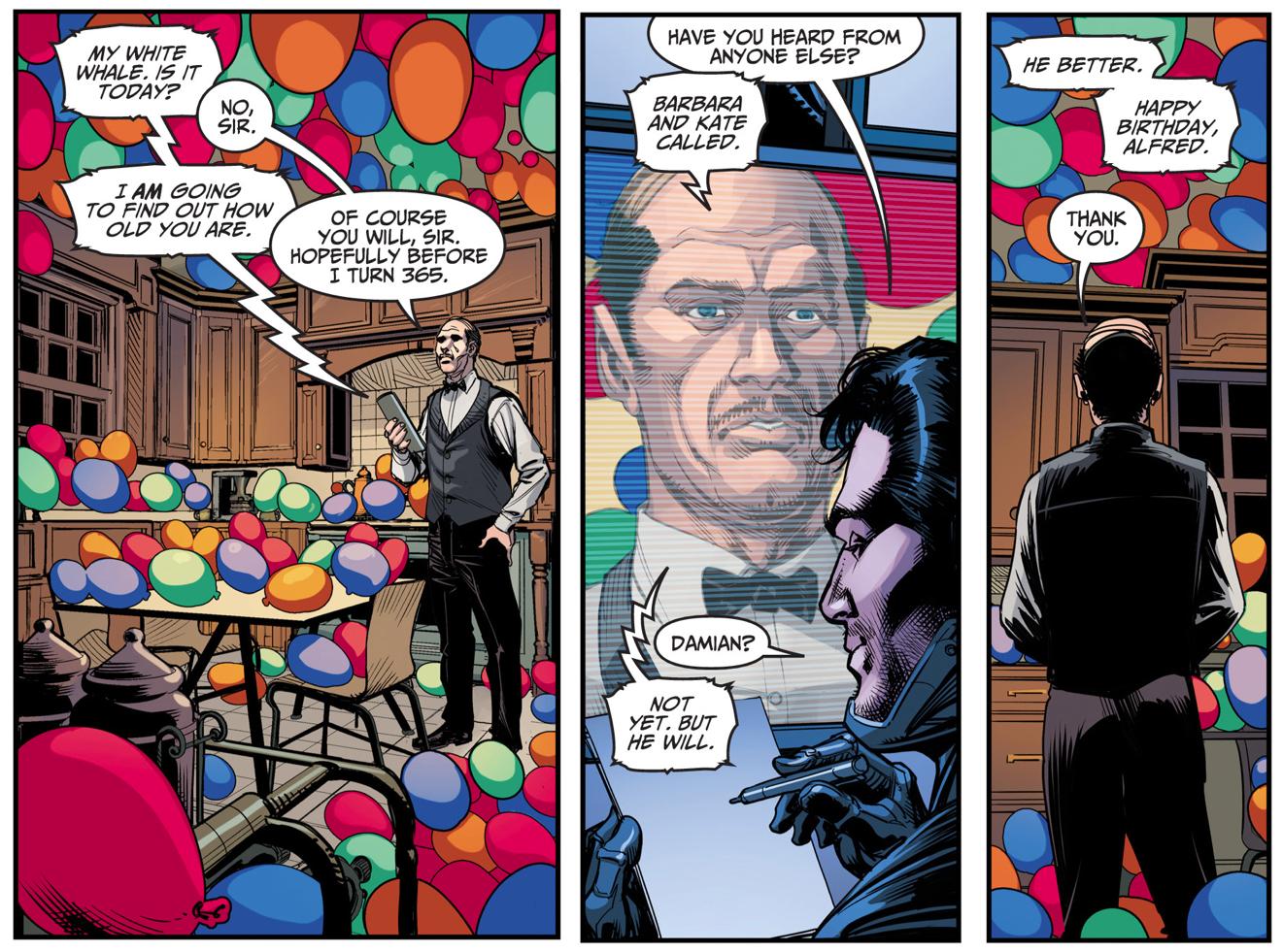 Batman Celebrates Alfred Pennyworth's Birthday (Injustice Gods Among Us)