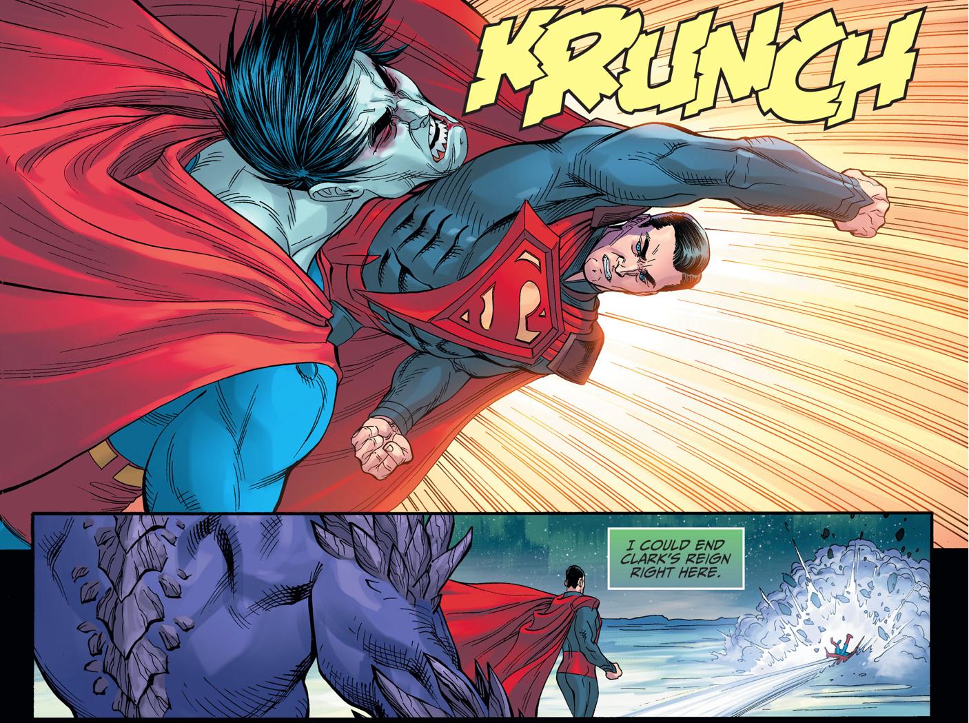 Bizarro And Doomsday VS Superman (Injustice Gods Among Us)