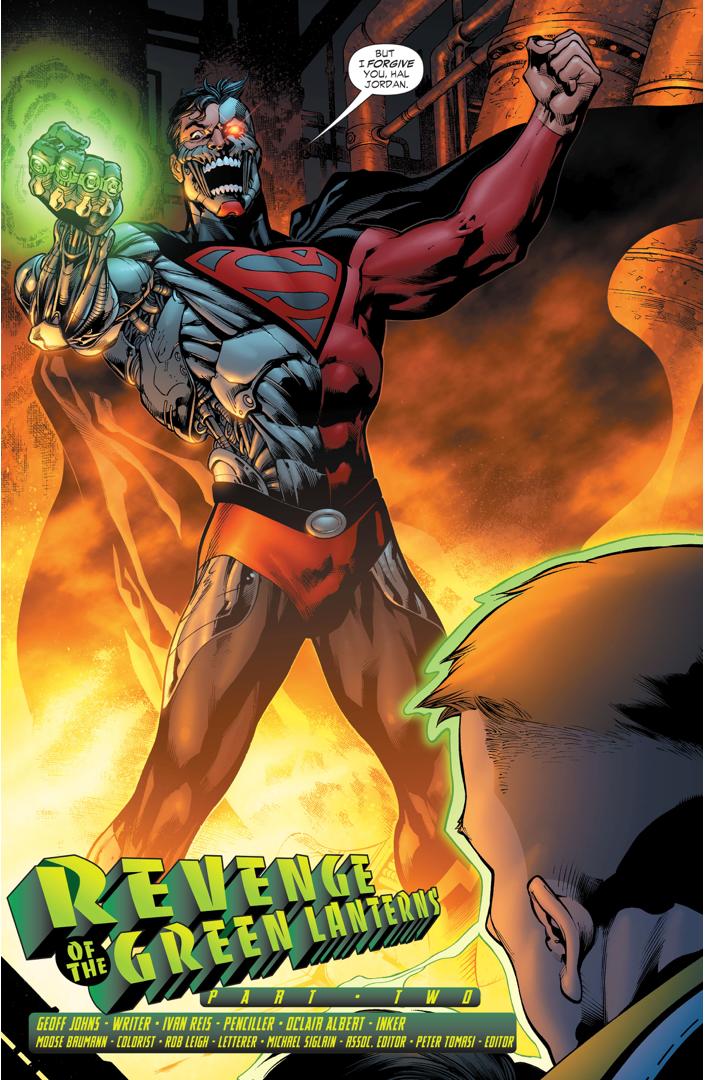 Cyborg Superman (Green Lantern Vol. 4 #11)