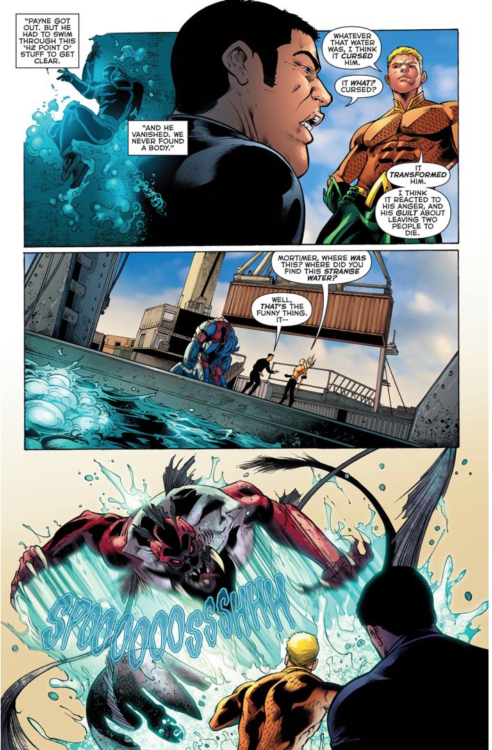 Dead Water's Origin Story