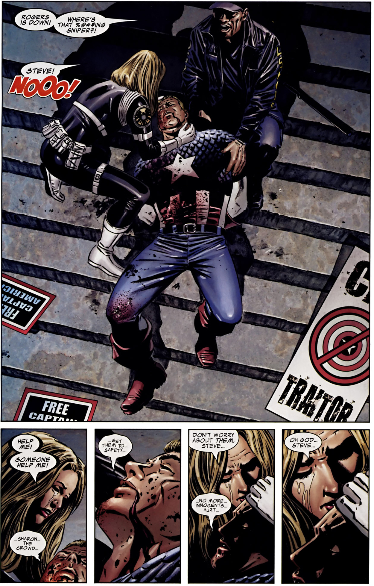 death of captain america (civil war)