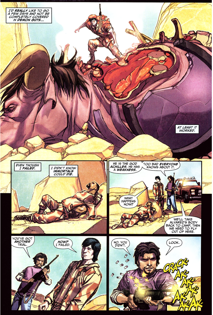 Freddy Freeman Passes The Trial Of Achilles (Trials Of Shazam)