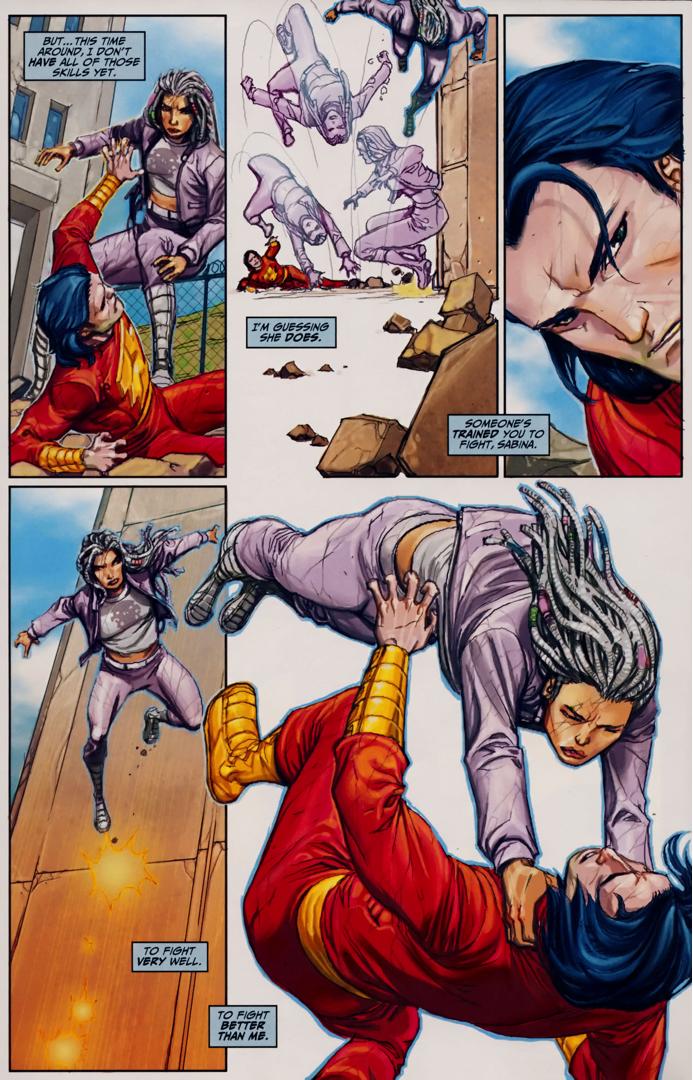 Freddy Freeman Passes The Trial Of Hercules (Trials Of Shazam)