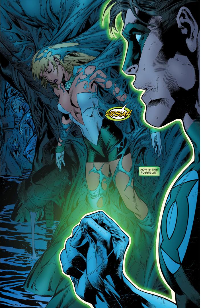 Green Lantern Arisia (Green Lantern Vol. 4 #12)
