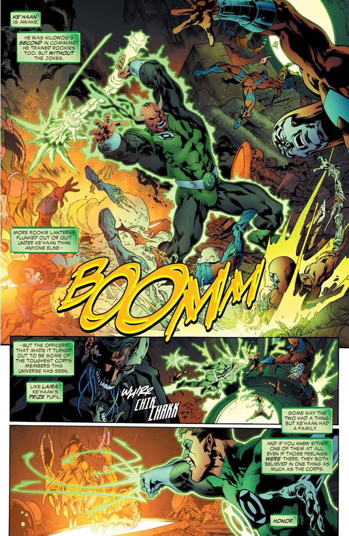 Green Lantern Hal Jordan Rescues The Lost Lanterns