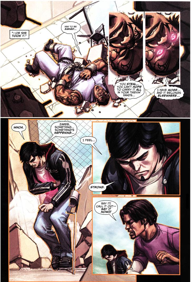 Hercules Gives Freddy Freeman Half His Power (Trials Of Shazam)