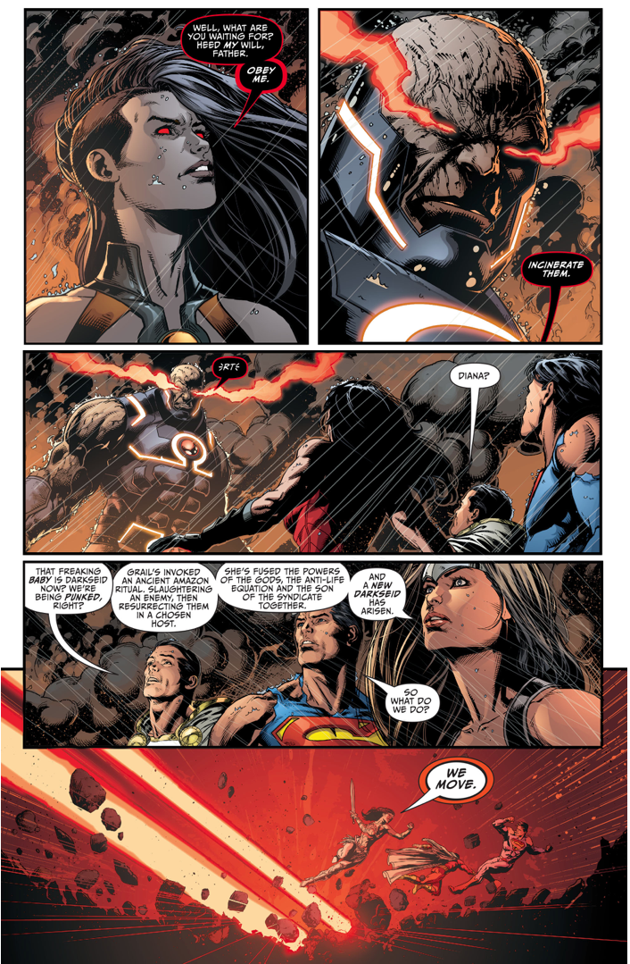 How Grail Resurrected Darkseid (Darkseid War)