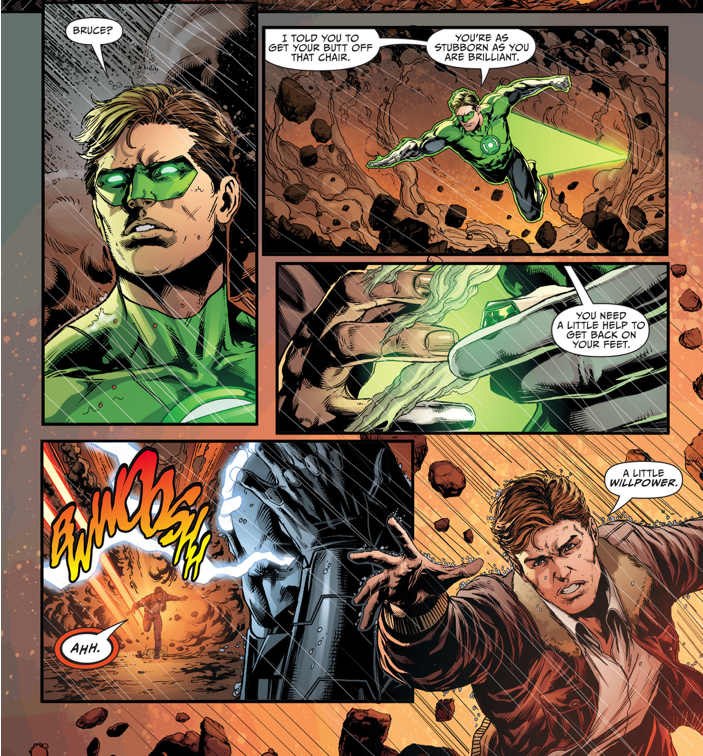 How Green Lantern Removed Batman From The Mobius Chair