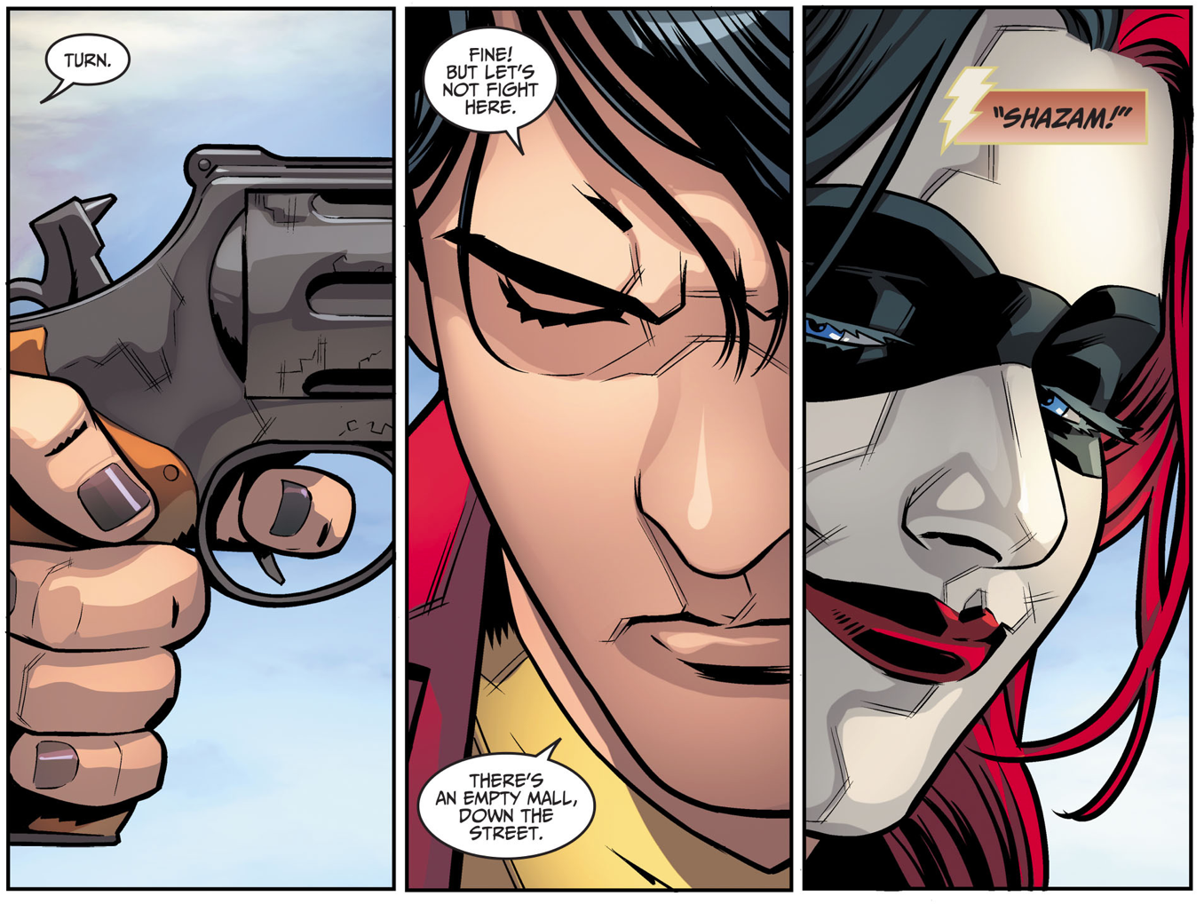 How Harley Quinn Forced Billy Batson To Transform