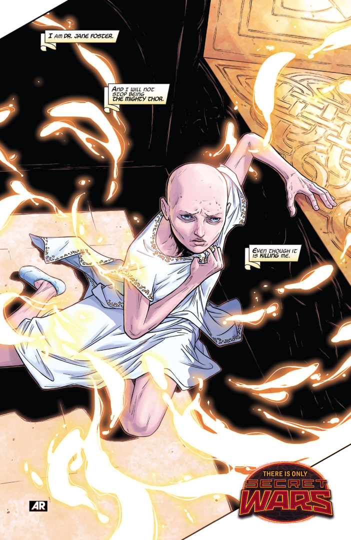 Jane Foster Is Revealed As The New Thor