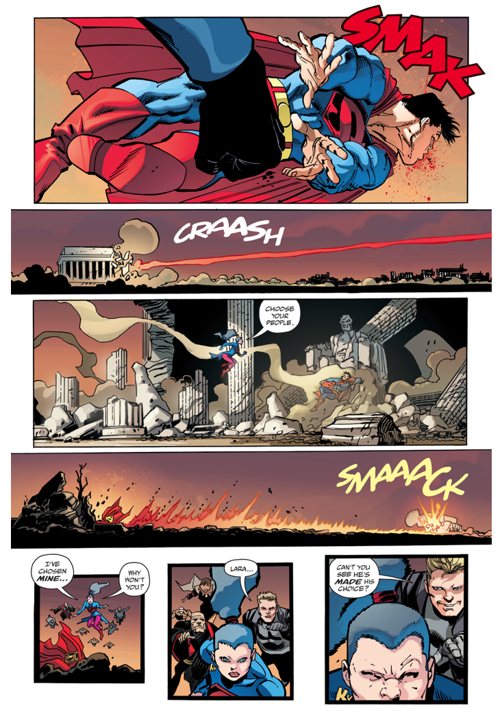 Lara VS Superman (The Master Race)