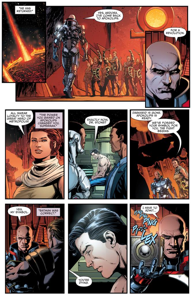 Lex Luthor's Apokolips Costume (Darkseid War)