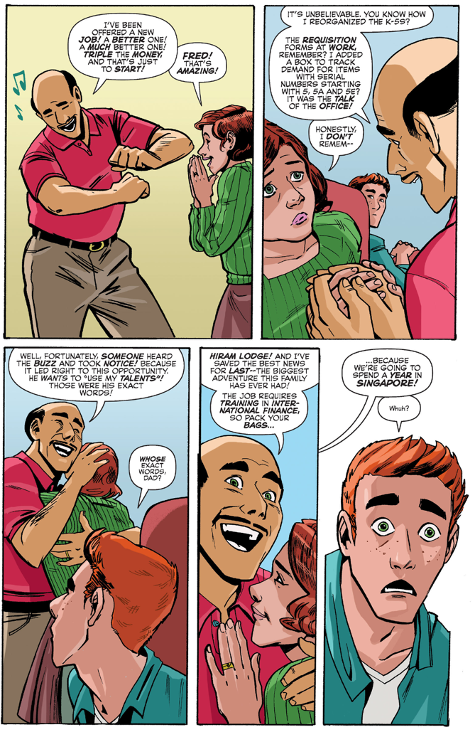 Mr. Lodge's Plan To Separate Archie And Veronica
