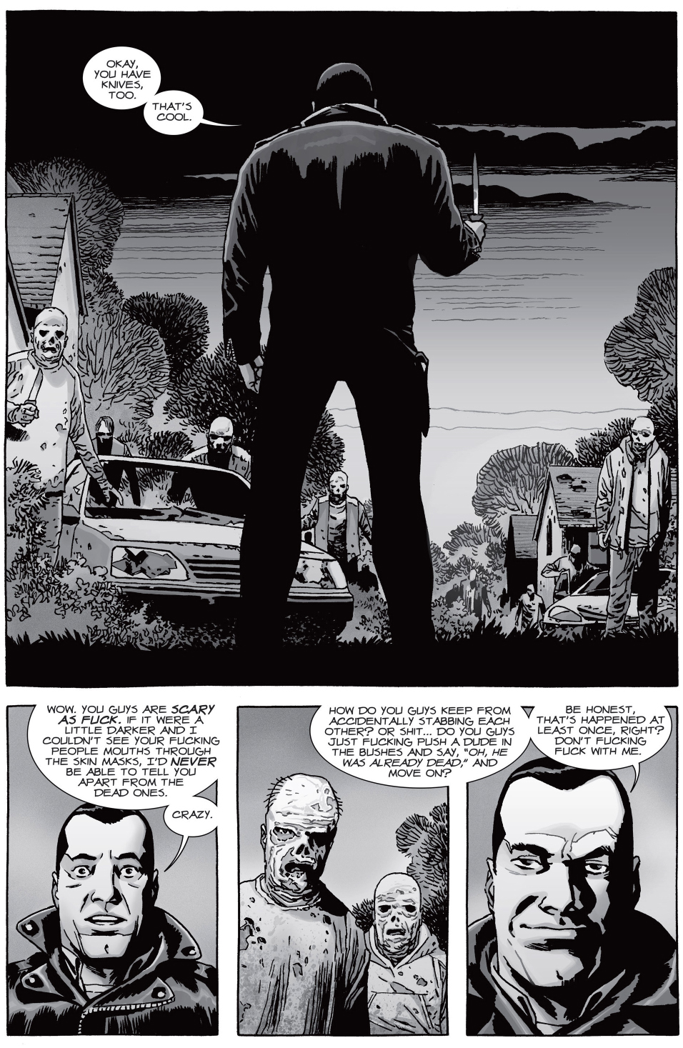 Negan Meets Beta Of The Whisperers