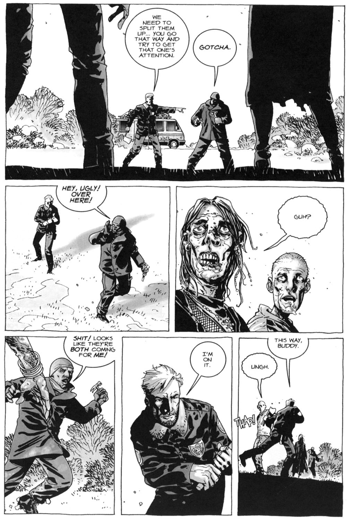 Rick Grimes And Tyreese VS Walkers (The Walking Dead #7)