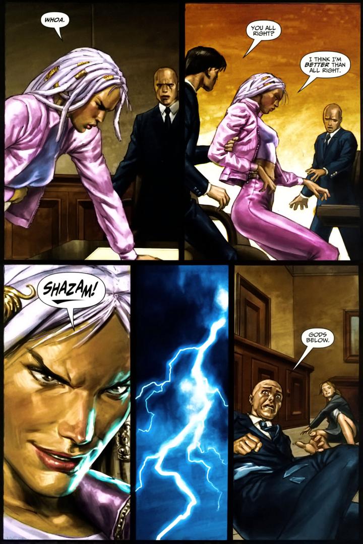 Sabina De La Croix Receives Half Of Apollo's Powers (Trials Of Shazam)