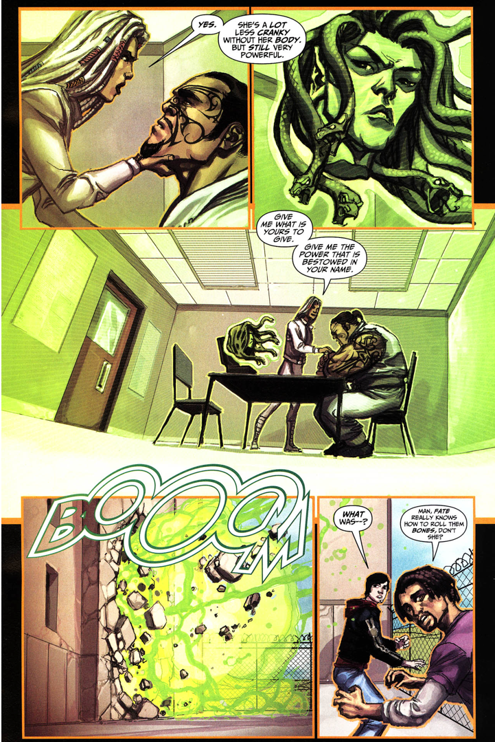Sabina De La Croix Steals Hercules's Power (Trials Of Shazam)