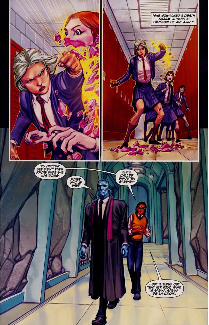 Sabina De La Croix's Origin Story (Trials Of Shazam)