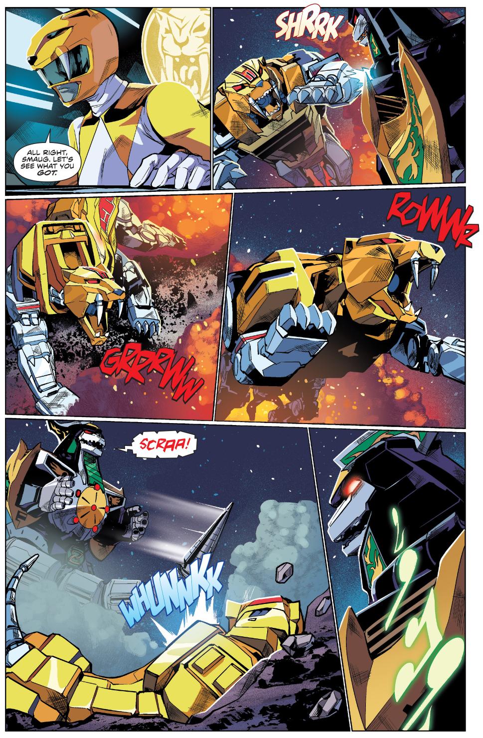 Sabretooth Tiger VS The Dragonzord