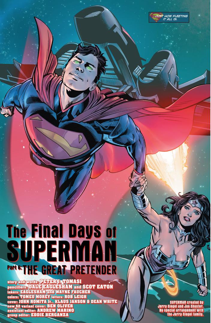 Superman And Wonder Woman (Action Comics Vol. 2 #52)
