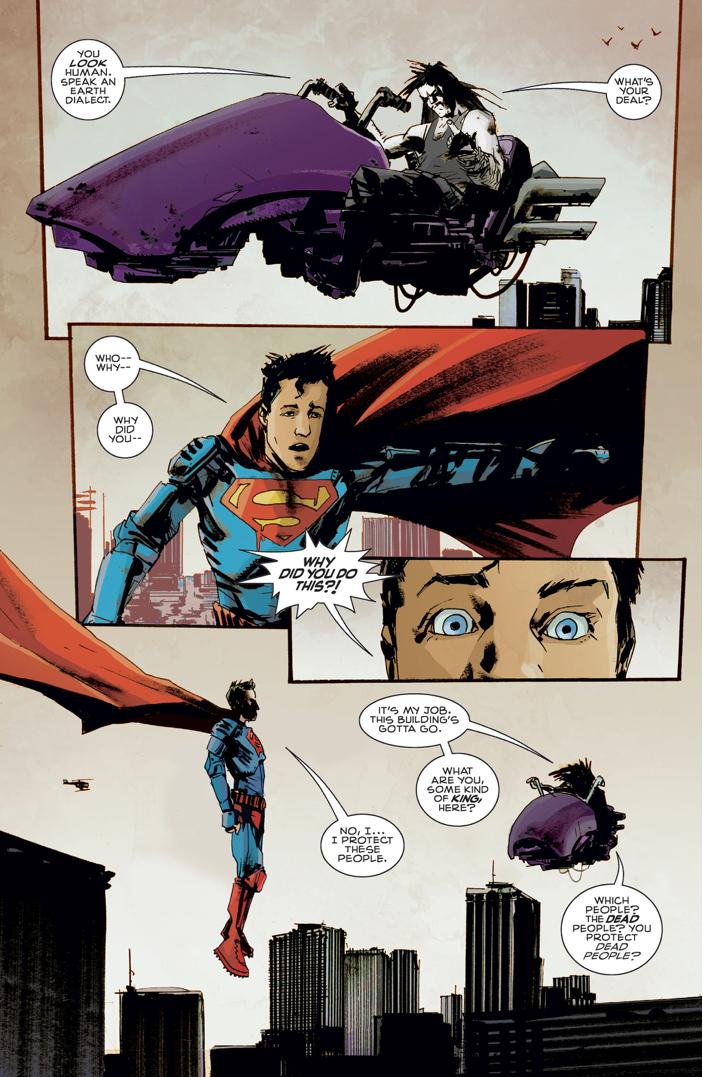 Superman Meets Lobo (American Alien)