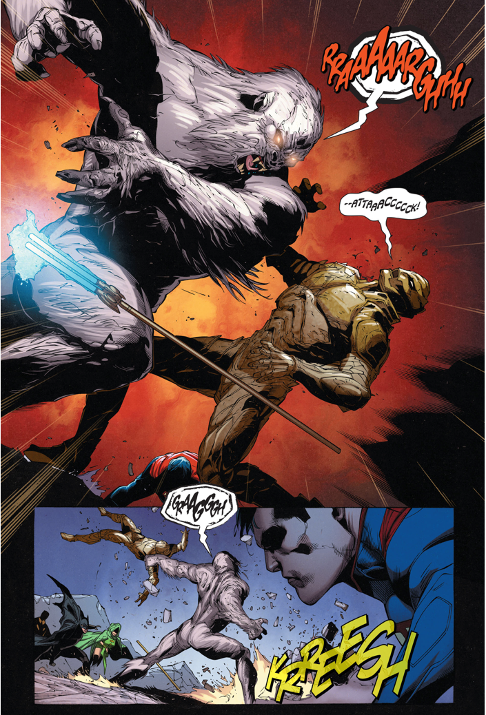 Superman Saves August General In Iron's Life