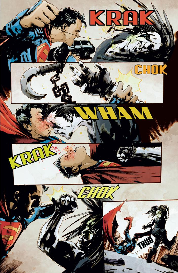 Superman VS Lobo (American Alien)