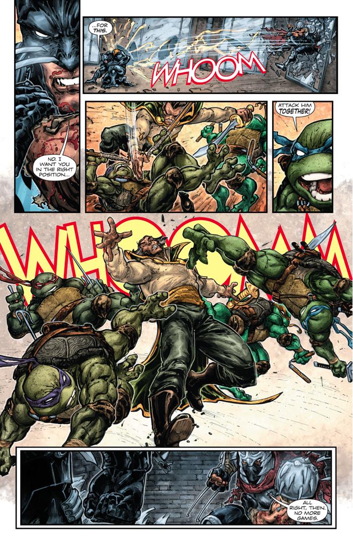 Teenage Mutant Ninja Turtles VS Ra's Al Ghul